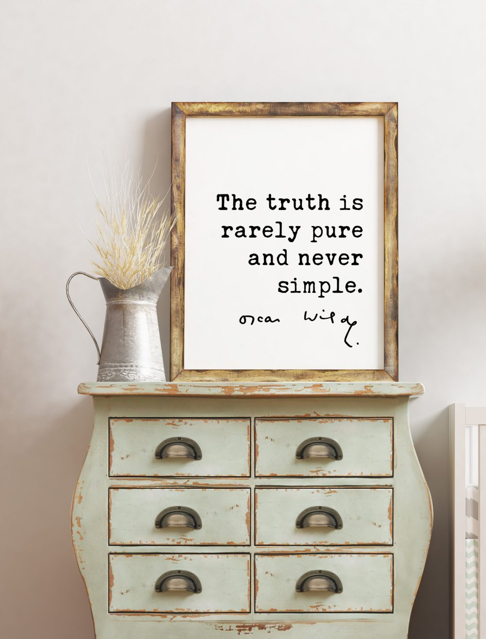 The truth is rarely pure and never simple. - Oscar Wilde Quote, The Importance of Being Earnest, Oscar Wilde, Truth Quotes